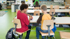 Zehn Lektionen pro Woche betreiben die Schüler in Eigenregie. Symboldbild.