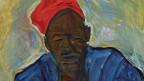 Gnädinger brach 1965 nach Togo auf, wo er 17 Jahre als Entwicklungshelfer wirkte. Bildausschnitt aus «Afrikaner mit roter Kappe».