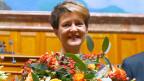 Die neue Bundespräsidentin Simonetta Sommaruga: « …. und heute ist einfach Freude.»