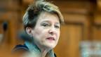 In der Bundesverfassung sei auch das Prinzip der Verhältnismässigkeit festgehalten, betont die Justizministerin Simonetta Sommaruga anlässlich der Ständeratsdebatte zur Ausschaffung krimineller Ausländer.