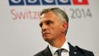 Didier Burkhalter an der OSZE-Konferenz in Basel.