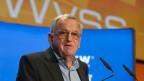 Hansjörg Wyss, Gründer von Synthes und Mäzen am Swiss Economic Forum in Interlaken.