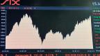 Die Märkte reagierten panisch - Kurs des SMI an der Börse nach der Aufhebung des Euro-Mindestkurses.