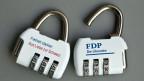 Die FDP: Eine Partei - keine gemeinsame Linie.