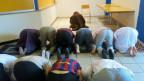 Freitagsgebet in der Strafanstalt Bellechasse.