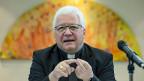 Bischof Markus Büchel, Präsident der Schweizerischen Bischofskonferenz. Er wehrt sich gegen den Vorwurf, die SBK sei nach rechts gerutscht.