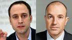 FDP-Vizepräsident Christian Wasserfallen und GLP-Nationalrat Roland Fischer
