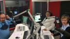 Werben für Integration, am Radio und auch sonst: Ahmed Jizawi, Hoda El Sherif und Susanne Gfeller von ArabX.