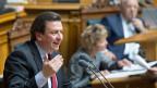 «Das ist die Kapitulation des Parlamentes vor den Hedgefonds», sagt Gewerkschafter Corrado Pardini zur Aufgabe des Euro-Mindestkurses durch die Nationalbank.