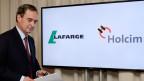 HolcimLafarge wird nicht wie vorgesehen Bruno Lafont (im Bild) führen. Lafont wird stattdessen gemeinsam mit Wolfgang Reitzle den neuen Verwaltungsrat präsidieren.