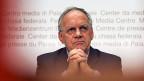 «Es war - ganz simpel - die Hauptsorge, dass wir nicht wissen, wie wir die Volksinitiative vom 9., Februar 2014 letztlich umsetzen können», sagt Bundesrat Johann Schneider-Ammann an der Medienkonferenz.