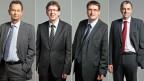 Philipp Müller, Albert Rösti, Christian Levrat und Christophe Darbellay