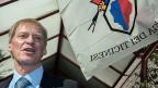 Regierungsrat Claudio Zali von der Lega dei Ticinesi ist im Amt bestätigt worden. Die Rechtspopulisten sind klare Sieger der Tessiner Wahlen.