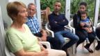 Das Ehepaar Kaufmann lebt seit einem Monat mit einer syrischen Flüchtlingsfamilie unter einem Dach.