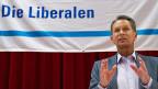 Leichte Distanzierung: FDP-Präsident Philipp Müller äussert sich zum Fall Markwalder