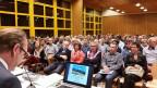 Mit 266 Stimmberechtigten (12,8 Prozent Beteiligung) herrschte Grossaufmarsch im Gemeindehaus Schenkon. Das Thema «Abschaffung der Gemeindeversammlung» wurde klar abgelehnt.