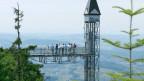 Der Obwaldner Pionier Bucher baute u.a. das Hotel auf dem Bürgenstock inkl. Standseilbahn und Aussenlift, damals der längste und schnellste Lift der Welt.