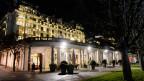Die Atom-Verhandlungen zum Iran im Frühjahr 2015 fanden im Genfer Luxushotel Beau Rivage statt.