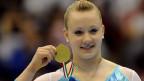 Als erste Schweizer Turnerien holte Ariella Käslin an einer Europameisterschaft Gold. Das war 2009 in Mailand.