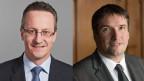 Martin Schmid, FDP links und Christian Levrat, SP, rechts.