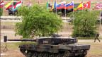 Die Drohgebärde der Nato aus Polen an Putin: Panzer bei der Nato-Übung in Polen am 18. Juni 2015.