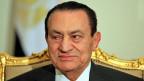2011 gestürzt und nun inoffizieller Namenspatron eines Bundesgesetzes, der sogenannten «Lex Mubarak»:  der ehemalige ägyptische Präsident Hosni Mubarak.