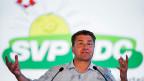 Der Neuenegger Gemeindepräsident und seine SVP bauen Druck auf - «Asyl-Wahlkampf von unten». Genau das dürfte SVP-Präsident Brunner (Bild) mit seinem Aufruf bezweckt haben.
