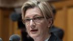 Gabi Huber - Im Bundeshaus nennt man sie die «eiserne Lady».