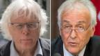 Ex-SP-Präsident Peter Bodenmann (links) und René Imoberdorf, CVP-Ständerat.