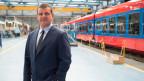 Peter Spuhler, CEO des Schienenfahrzeugherstellers Stadler Rail Group.
