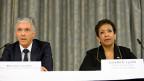 Man folge den weiteren Hinweisen, sagte US-Justizministerin Loretta Lynch. Konkreter wurde auch sie nicht, auch nicht auf die Frage, ob Fifa-Präsident Sepp Blatter noch angeklagt werden könnte.