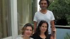 Von links nach rechts. Kalida Omar, die Mutter des kleinen Reoan, Annalisa Spagnoli und Rocco Christofaro.