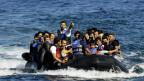 Auf einem solchen Boot waren auch Ali und Mohammed auf der Flucht.