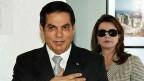 Im Ständerat wurde nicht eine Stimme laut, die Potentaten das Recht auf Verjährung einräumen wollte. Bild: Der ehemalige tunesische Präsident Ben Ali mit Ehefrau Leila.