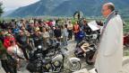 Segnungsfeier für Motorradfahrer und –fahrerinnen.