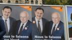 Die Reichen hätten gewonnen, meint der abgewählte CVP-Nationalrat Jacques Neirynck (auf dem Wahlplakat rechts).