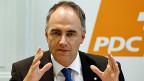 Die Strategie der CVP: In den nächsten vier Jahren ein weiteres Mal die Zusammenarbeit mit den anderen Mitteparteien suchen. Sollten diese Bemühungen erfolgreich sein, könnte die Mitte als zweitstärkste Kraft einen FDP-Sitz angreifen.
