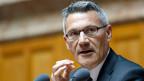 Den Erfolg seiner Partei auf die politische Grosswetterlage zu reduzieren, greife zu kurz, sagt Nationalrat Pirmin Schwander, der starke Mann der Schwyzer SVP. Er treibt seine Parteikollegen zu einem permanten Wahlkampf an.