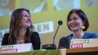 Die CO-Präsidentinnen der Grünen Partei