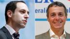 Der neue FDP-Fraktionschef sollte eine Vertrauensperson sein, verlässlich sowohl gegen innen wie gegen aussen. Wer in diesem Sinne der FDP-Fraktion die nächsten vier Jahre dient, entscheidet sich am 20. November. Bild: Christian Wasserfallen und Ignazio Cassis.
