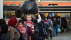 Flüchtlinge - auf der Suche nach Sicherheit und Perspektiven.