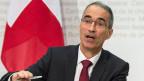 Serge Gaillard, Direktor der Eidgenössischen Finanzverwaltung: Das Sparprogamm sei so gestaltet, dass es keine Lastenverschiebung gebe auf die Kantone.