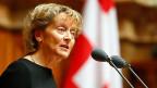 «Kompromisse entsprechen unserer Konsensdemokratie; sie sind etwas typisch Schweizerisches» , sagte Bundesrätin Eveline Widmer-Schlumpf in ihrer Abschiedsrede.