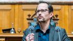 … auch Frust auch über die eigene Machtlosigkeit, sagt  Balthasar Glättli, Fraktionschef der Grünen. Es sei schlicht nicht möglich gewesen, eine alternative Kandidatur in der Mitte aufzustellen