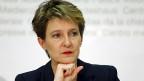 Die Hauptaufgabe von Simonetta Sommaruga dieses Jahr ohne Zweifel das Verhältnis zur EU. Als Bundespräsidentin war sie oft unterwegs in die europäischen Hauptstädte - mit der Aufgabe, Verständnis für die Position der Schweiz zu schaffen.