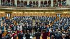 Die Bundesratswahl am 9. Dezember war sicher einer der Höhepunkte der ersten Session mit dem neugewählten Parlament.