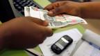 Mobiler Zahlungsverkehr ist in Afrika sehr beliebt.