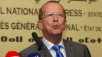 Martin Kobler, Uno-Sonderbeauftragter und Leiter der Uno-Unterstützungsmission in Libyen, während einer Pressekonferenz in Tripolis am 22. November 2015.