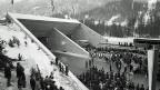 Der Arlberg-Strassentunnel verbindet die österreichischen Bundesländer Tirol und Vorarlberg; er ist zwei Jahre älter als der Gotthard-Tunnel. Archivbild von der Eröffnung 1978.