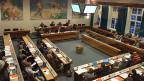 Mehr als die Hälfte aller Politiker, die bei den letzten Wahlen vor vier Jahren in den Einwohnerrat von Liestal gewählt wurden, ist heute nicht mehr im Amt. Bild: Erste Sitzung 2016 des Einwohnerrates Liestal.